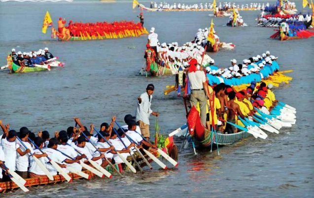 Water Festival in Phnom Penh