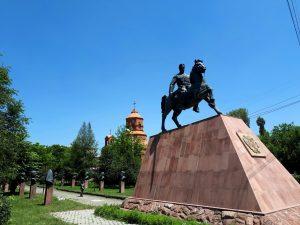 Gyumri Zoravar Andranik Statue